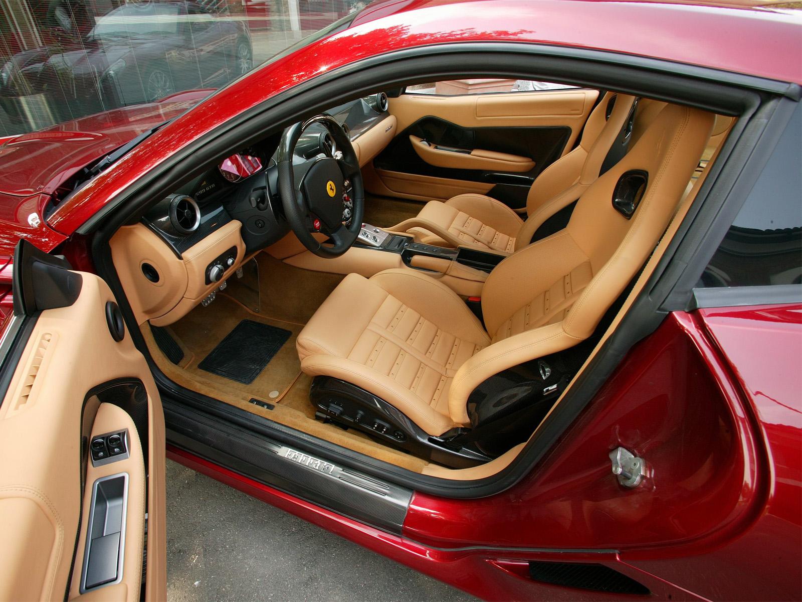 Ferrari+599+gtb+interior