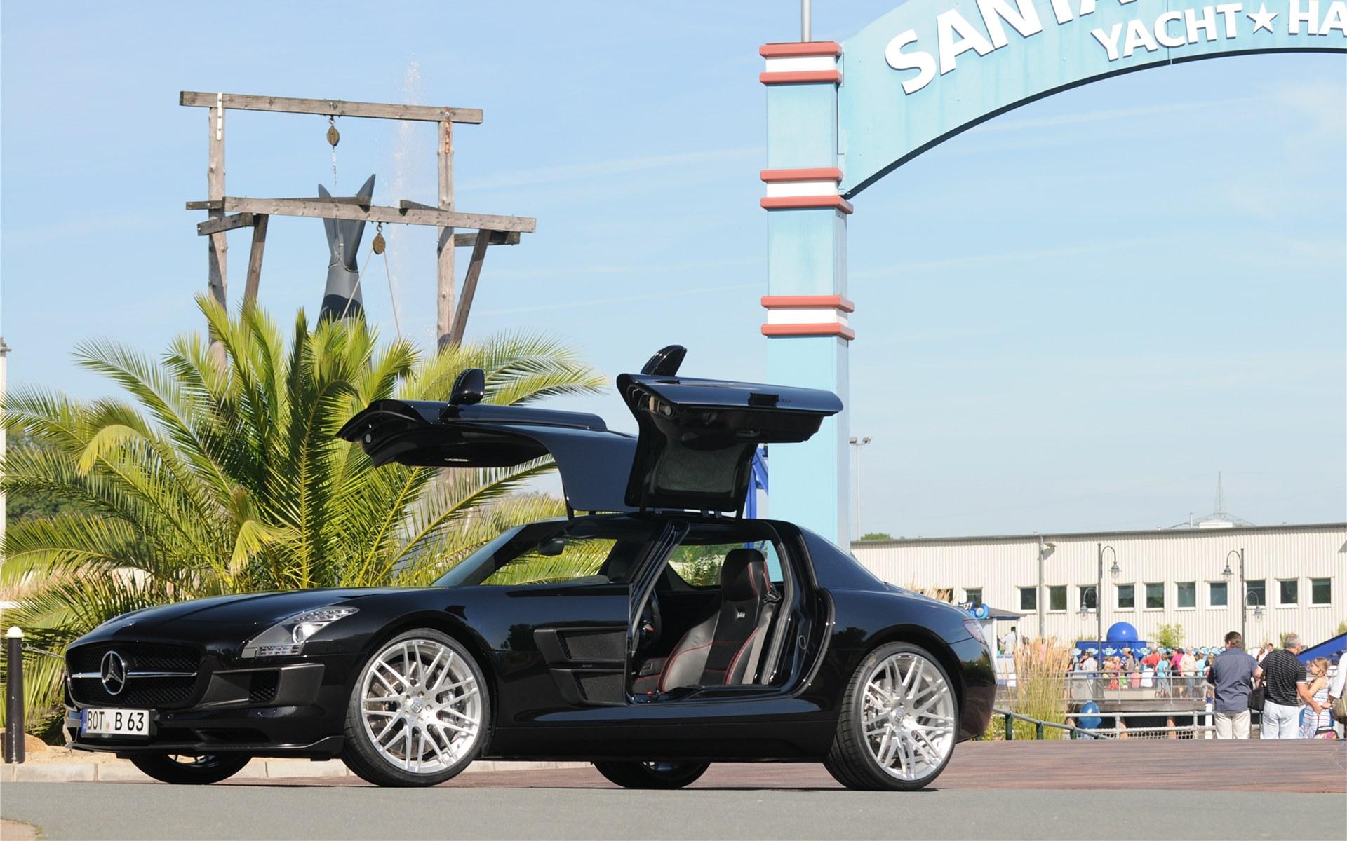 Brabus Mercedes Benz SLS AMG